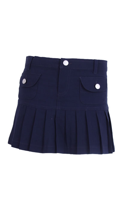 FOSK0337 Pleated u0026 Pocket Skirt - Face Off Australia